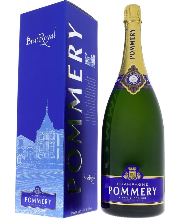 pommery brut royal in magnum buying sale of champagne. Black Bedroom Furniture Sets. Home Design Ideas